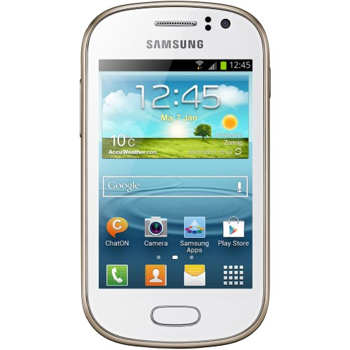 Samsung Galaxy Fame GT-S6810 Smartphone Android Edge GPRS GSM HSDPA HSUPA UMTS Android 4.1 4GB Leiste weiß