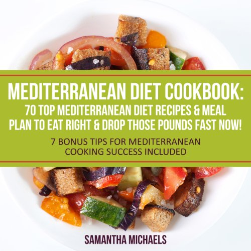 Mediterranean Diet Cookbook audiobook cover art