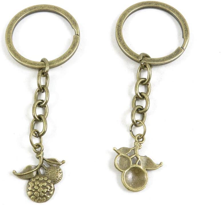 100 PCS Ranking TOP12 Fashion Jewelry Making Suppliers 2021new shipping free shipping Findings Ring Key Chain