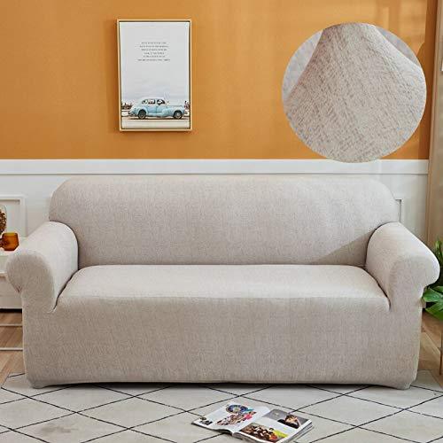 ASCV Funda de sofá elástica Fundas elásticas Funda de sofá Todo Incluido para Funda de sofá de Diferentes Formas Funda de protección contra el Polvo A6 3 plazas