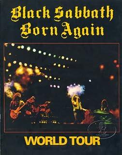 Concert Program For Black Sabbath 1982-83 Born Again Tour