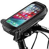 ENONEO Support Telephone Moto Etanche Porte Telephone Vélo Universel avec Écran Tactile Sacoche Vélo Cadre Support Smartphone...