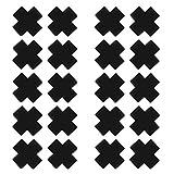 iEFiEL Copricapezzoli da Donna Ragazza in Tessuto Adesivo Monouso Nipple a Forma Croce 20 ...