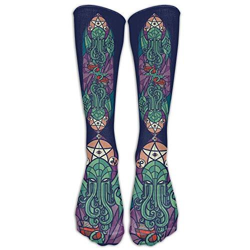 remmber me Cthulhu'S Church Unisexstrümpfe Herren und Damen Sport Long Sock One