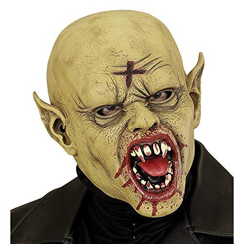 Widmann 00845 - Maske Vampir mit blutigen Zähne