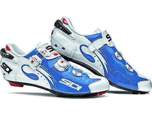 Sidi WIRE - Chaussures peintes WIRE Carbon BARNIZADO Color Azul/Blanco Talla 39