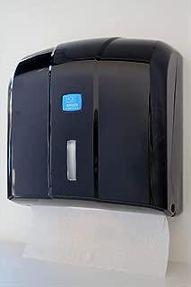 6 Handtuchrollen inkl Papierhandtuchspender Chromoptik f/ür Innenabrollung