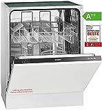 Bomann GSPE 892empotrable de lavavajillas/vollintegriert/60cm, eficiencia energética A + +/12Mgd/5programas/258kWh/año/botones Apertura Negro