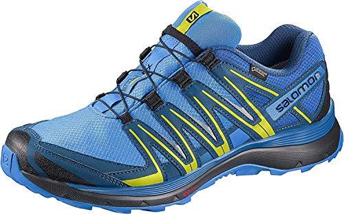 Salomon XA Lite GTX, Zapatillas de Trail Running para Hombre, Multicolor (Indigo Bunting/Snorkel Blue/Sulphur 000), 42 EU