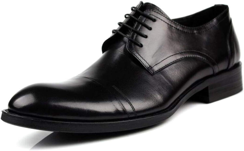 huge discount 6e25c f2d2f FLYSXP FLYSXP FLYSXP Business-Business-Schuhe Für Herren, Spitze  Freizeitschuhe Für Herren, Abriebfeste Herrenschuhe Herren  Lederstiefel (Farbe ...