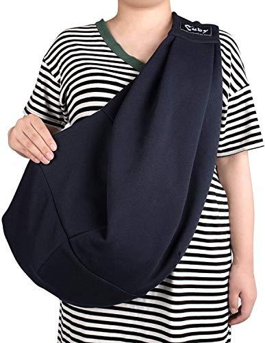 CUBY Carrier Sling Dog Small Dog Cat Sling Pet Sling Backpack Single Shoulder Pet Bag for Travel Dog Carrier Bag (Blue) 5