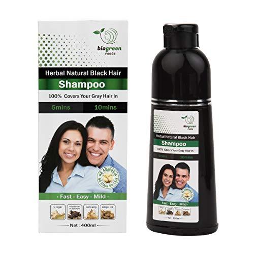 Herbal Natural black hair Shampoo … (400ml)