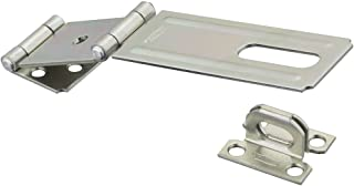 National Hardware N103-291 V34 Double Hinge Safety Hasp in Zinc plated