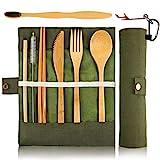Bamboo Utensils Cutlery Set BEWBOW –...