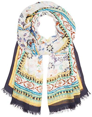 BRAX Damen Style Janine Schal, White, One Size