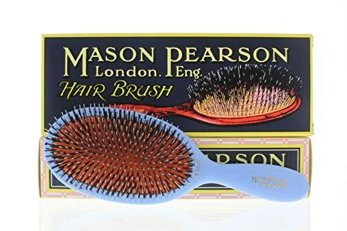 Mason Pearson BN1 Poils/Nylon populaire Brosse à cheveux, Bleu