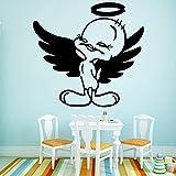 wopiaol Dessin animé Volant Autocollants muraux de Canard Auto-adhésif Art Papier Peint Enfants Chambre de bébé...