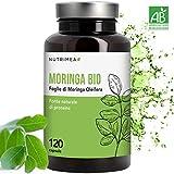 Moringa Biologica • Moringa Oleifera 120 Capsule 400mg • Vitamine...