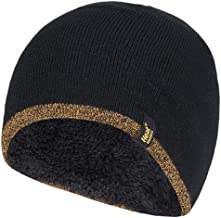 Heat Holders Men's Thick Fleece Lined Winter Warm Thermal WRK Work Beanie Hat