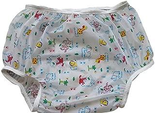 Baby Pants Jungle Friends Nursery Print Adult Pullon Plastic Pants - 3XLarge