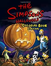 The Simpsons Halloween Coloring Book for Fans