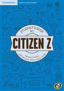 Citizen Z A1 Student's Book with Augmented Reality  - Pack de 3 libros - 9788490360118