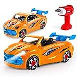 VATOS Coches De Juguetes para Ensamblar De Construcción Juguetes Desmontar Toy Car Racing Desmontar...
