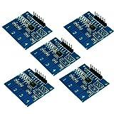 AZDelivery 5 x TTP224 Panel capacitivo de 4 canales con sensor táctil digital para Arduino y Raspberry Pi con eBook incluido