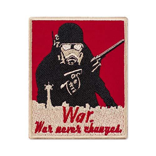 Fallout - Toppa ricamata New Vegas New California Republic Rangers, 7,9 x 9,9 cm