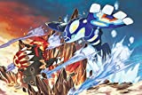 PremiumPrints - Pokemon Groudon and Kyogre Movie Poster Glossy Finish Made in USA - MOV347 (24' x 36' (61cm x 91.5cm))