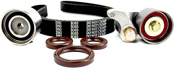 DNJ TBK353 Timing Belt Kit for 1998-2004 / Acura, Honda, Isuzu/Amigo, Axiom, Passport, Rodeo, Rodeo Sport, Trooper, VehiCROSS / 3.2L, 3.5L / DOHC / V6 / 24V / 3165cc, 3475cc, 3491cc, 3494cc / 6VD1