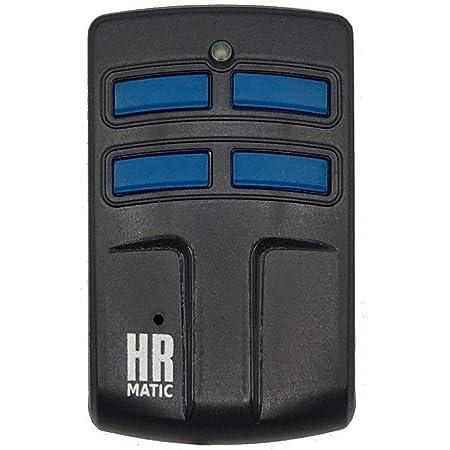 Mando Garaje Universal Multifrecuencia HR Matic Multi 2 Compatible Frecuencias 433 hasta 868MHz Código Fijo Y Variable Unifica 4 Mandos Distintos En 1