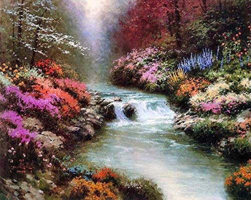 1000 Pieces Wooden Jigsaw Puzzle for Adult & Kids –by Thomas Kinkade Painting Series (K3)
