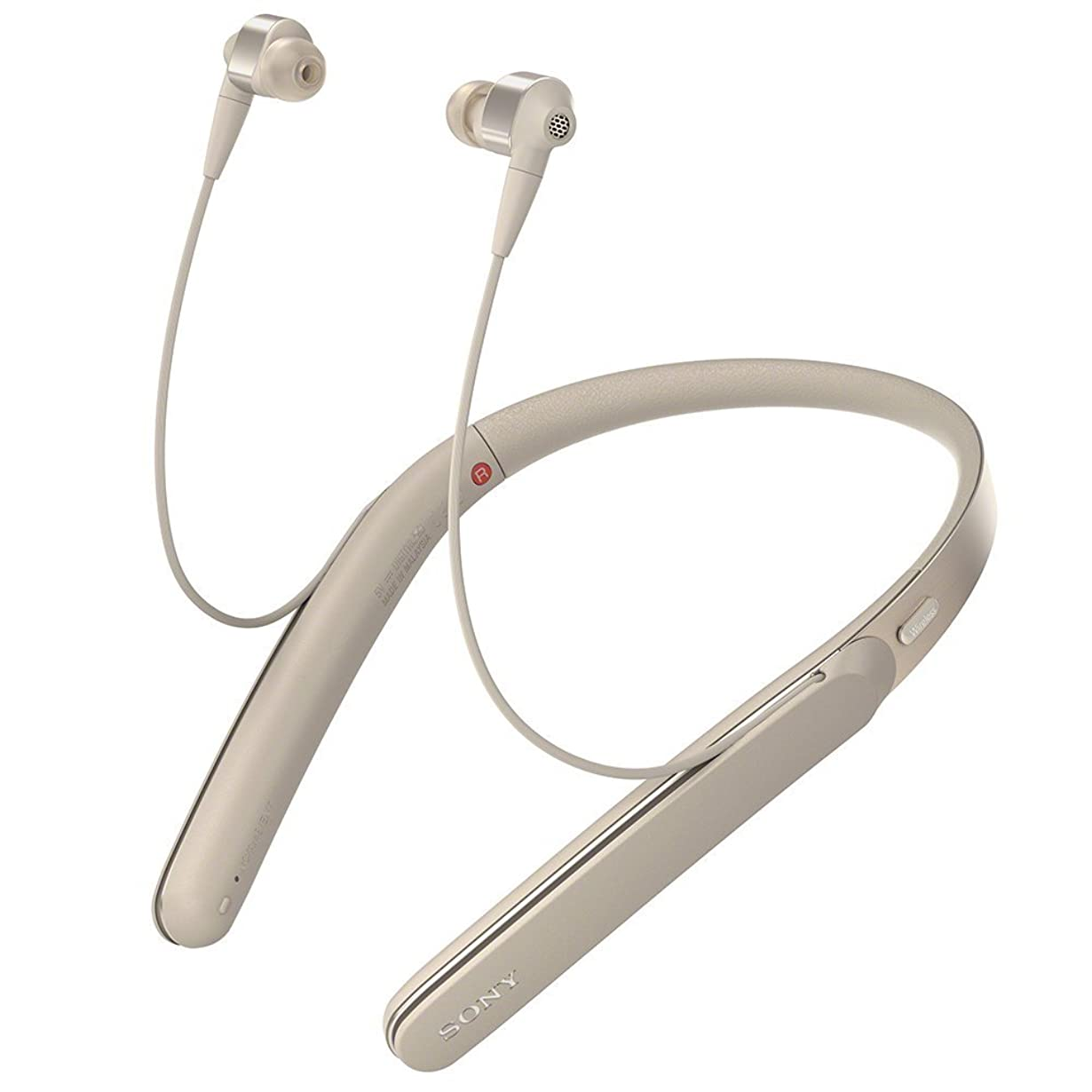 レキシコン鏡大胆なSony WI-1000X Gold ワイヤレスノイズキャンセリングヘッドフォン WI1000X [並行輸入品]