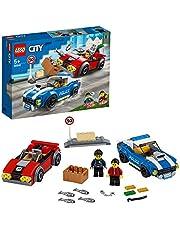 LEGOCity60242PoliceHighwayArrestwithTwoCarToys