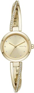 DKNY Stainless Steel Wrist Watch For Women, NY2830, Gold