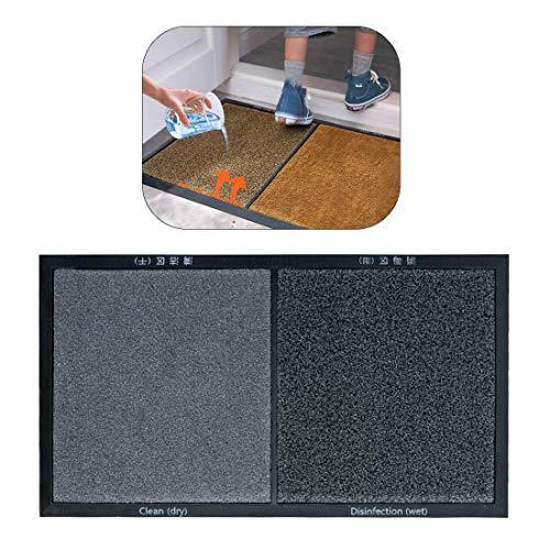 WXJZ Alfombra Desinfectante,Alfombra De Desinfeccion Zapatos Puerta Delantera Limpieza Automática Desinfección Felpudo For Inicio Alfombra Industrial 3PCS