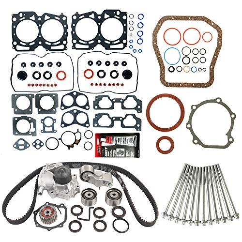 MOCA Timing Belt Kit & Full Gasket Set & Head bolts Compatible for 99-03 Subaru Forester 2.5L...
