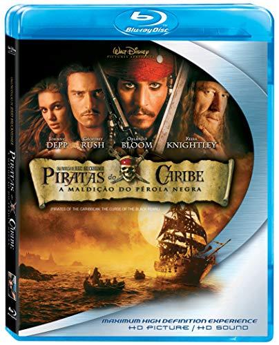 Piratas Do Caribe: A Maldição Do Pérola Negra [Blu-ray]