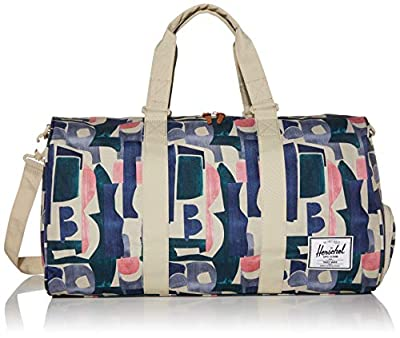 Herschel Novel Duffel Bag, Abstract Block, Mid-Volume 33L