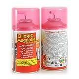 Ciliegie e Magnolia Deodorante Ambiente 250 ml Ricarica Diffusore Automatico