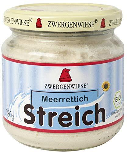 Zwergenwiese Bio Meerrettich Streich (6 x 180 gr)