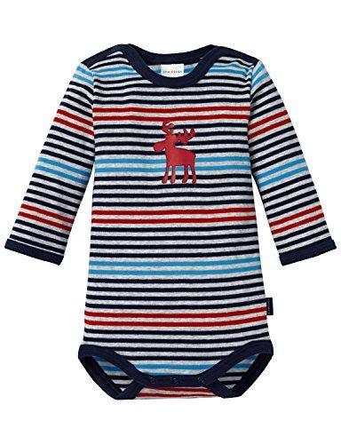 Schiesser Baby Body 1/1, Bébé garçon, Multicolore (1 904), 2 Mois