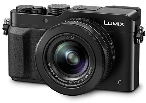 Panasonic Lumix DMC-LX100 - Cámara Digital (12,8 MP, 4112 x 3088 Pixeles, Mos, 3,1x, 4K Ultra HD) Negro [Versión Importada]