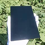 GHJGHJ Cuarzo Cristales Naturales Black Obsidian Piedras Cubides Piedras Espécimen Acuario Accesorios Accesorios Piedra preciose (Size : 1pc)