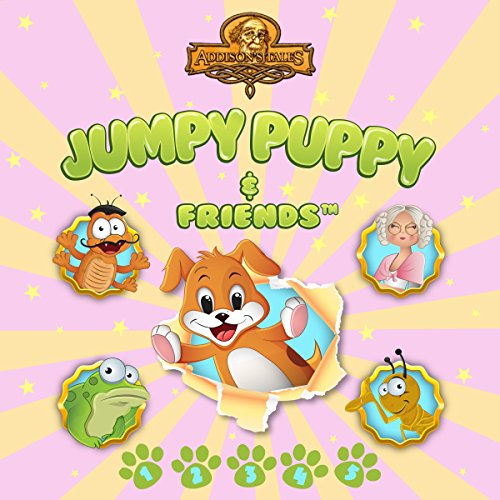 Jumpy Puppy and Friends audiobook cover art