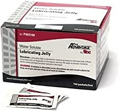 Water Soluble LUBRICATING JELLY 3 gm, 144 Individual Sterile Packets