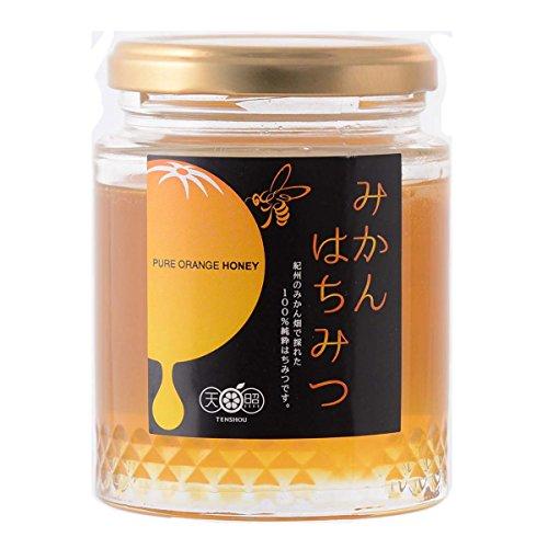 天照 紀州のみかん畑で採れた蜂蜜 国産純粋はちみつ みかんはちみつ 中サイズ〔250g〕