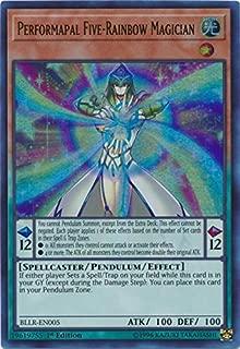 Yu-Gi-Oh! - Performapal Five-Rainbow Magician - BLLR-EN005 - Ultra Rare - 1st Edition - Battles of Legend: Light's Revenge
