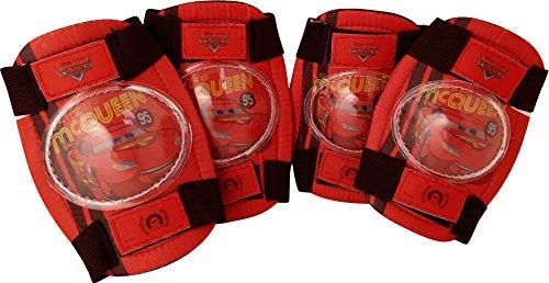 Disney Jungen Cars Kinder-knie-/und Ellenbogenschoner, Rot, M